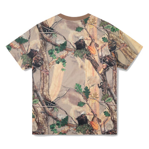 TREE CAMO ALL OVER PRINT T-SHIRT