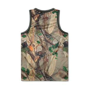 TREE CAMO BASKETBALL JERSEY