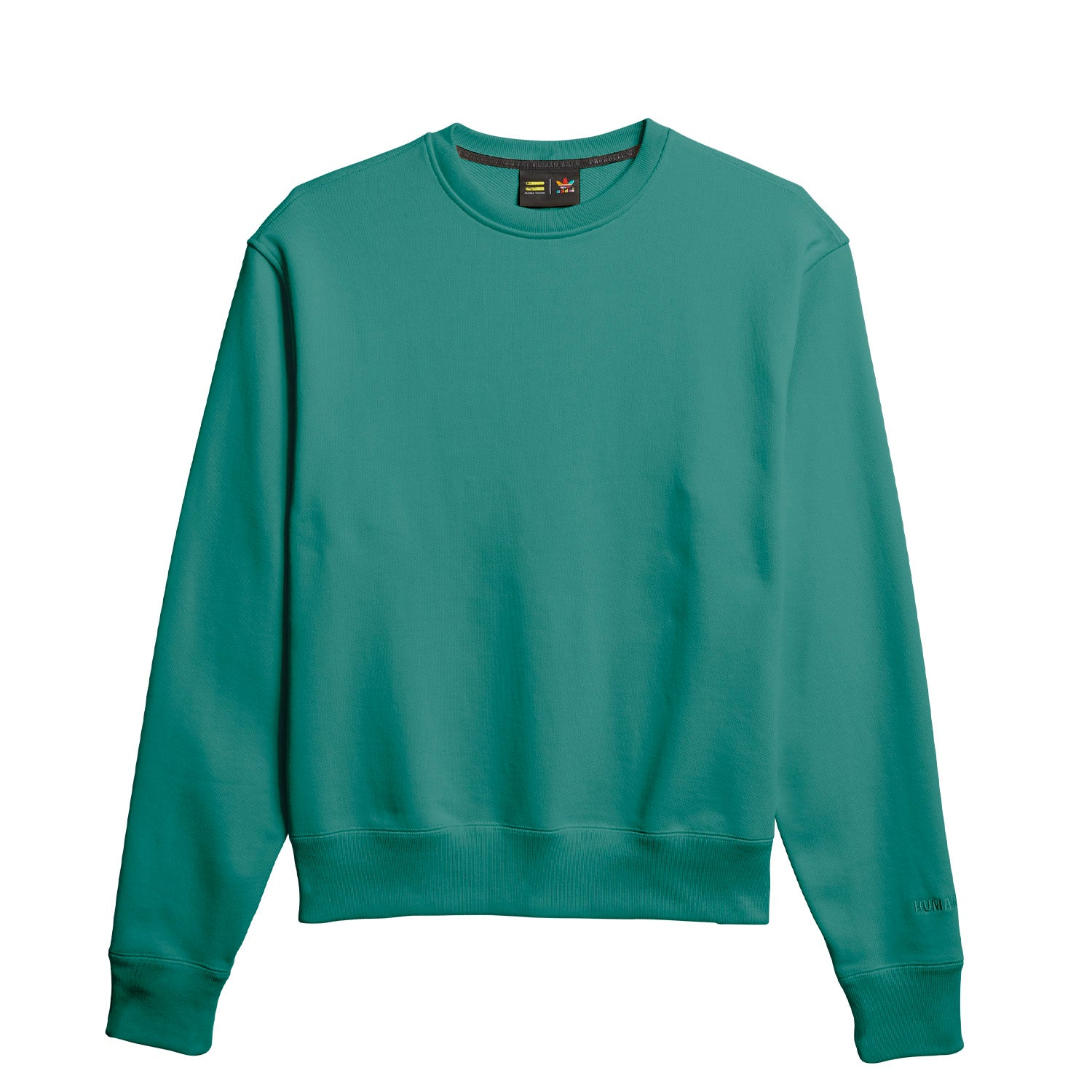 PW BASICS CREW TRUE GREEN