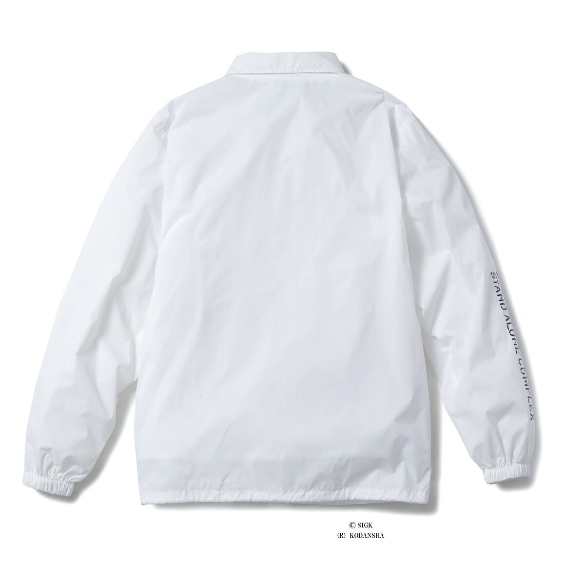 ICECREAM X GHOST IN THE SHELL MOTOKO KUSANAGI COACH JACKET