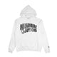CLASSIC CURVE LOGO HOODIE / WHITE / S