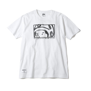 LOOKING HELMET T-SHIRT