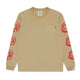 ASTRO REPEAT L/S T-SHIRT / SAND / S