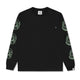 ASTRO REPEAT L/S T-SHIRT / BLACK / S