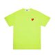 RED HEART PASTELLE T-SHIRT / GREEN / S