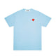 RED HEART PASTELLE T-SHIRT / BLUE / S