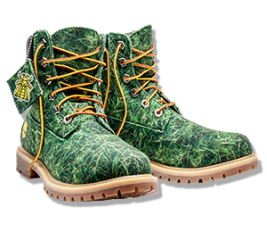 BEE LINE X TIMBERLAND WOMEN'S GRASS