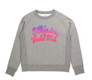 Billionaire Girls Club JEMISON CREWNECK
