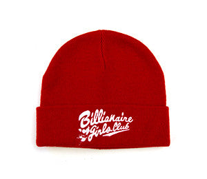 Billionaire Girls Club Script Chaser Beanie