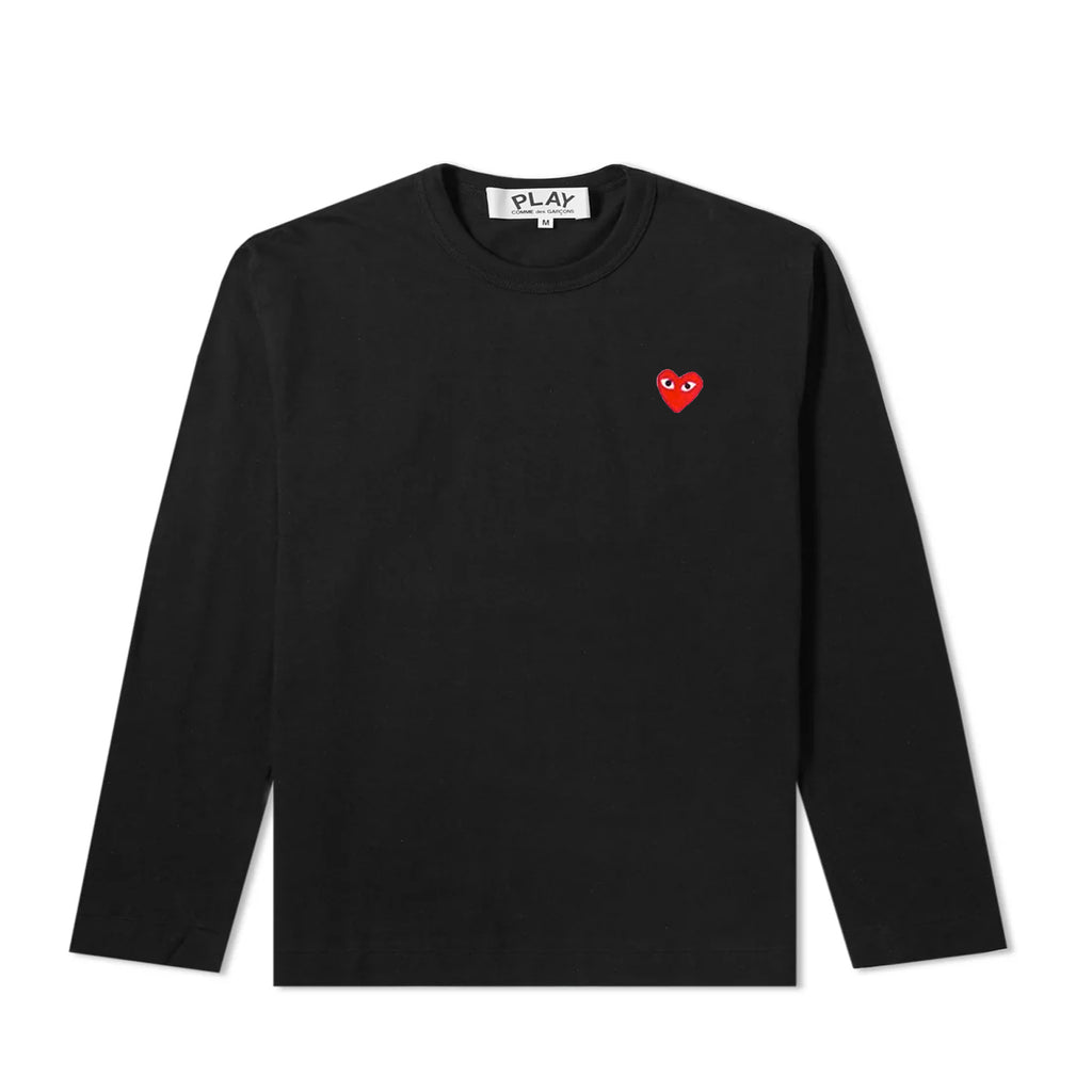 SMALL RED HEART L/S T-SHIRT