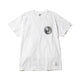 BILLIONAIRE BOYS CLUB x FDMTL CIRCLE TEE / WHITEXBLACK / S