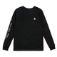 BETTER BUILT ROCKET L/S T-SHIRT / BLACK / S