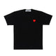 SMALL HEART T-SHIRT / BLACK / S