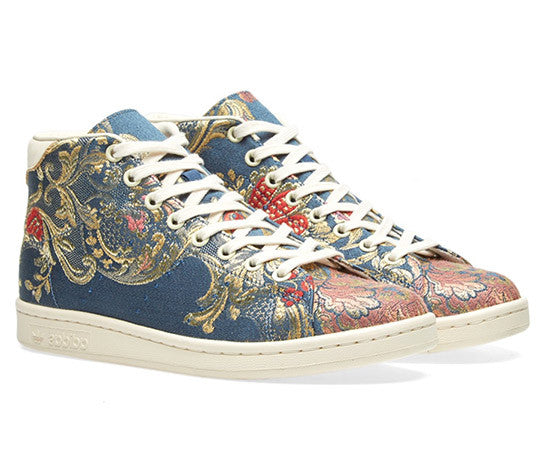 STAN SMITH MID JACQUARD BLUE