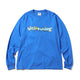 BILLIONAIRE BOYS CLUB X ANDRE SARAIVA LOGO L/S TSHIRT / ROYAL BLUE / S