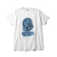 BILLIONAIRE BOYS CLUB x ANDRE SARAIVA HELMET TEE / WHITEXBLUE / S