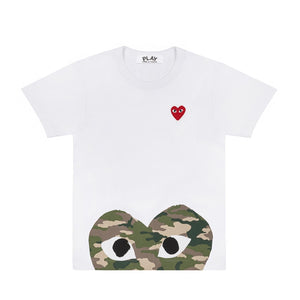 CAMO BOTTOM HEART T-SHIRT