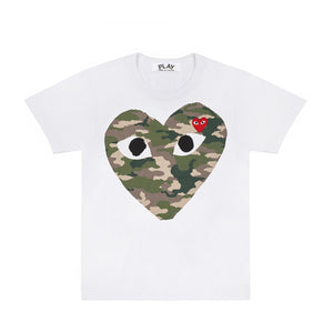 CAMO BIG HEART T-SHIRT