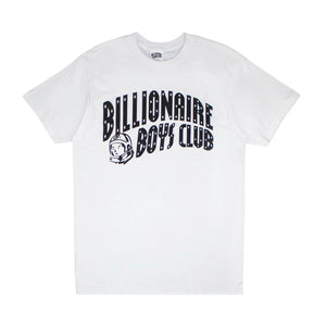 CLASSIC CURVE LOGO TEE WHT/BLK