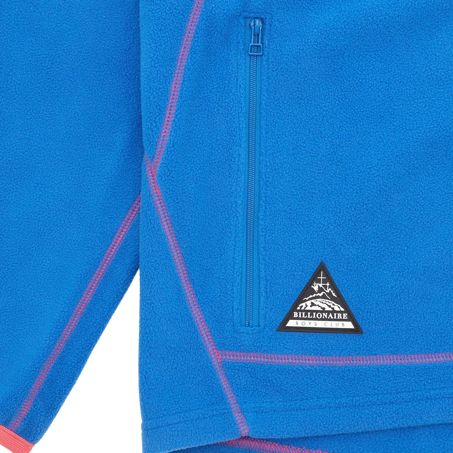 CONTRAST ZIP THROUGH FLEECE