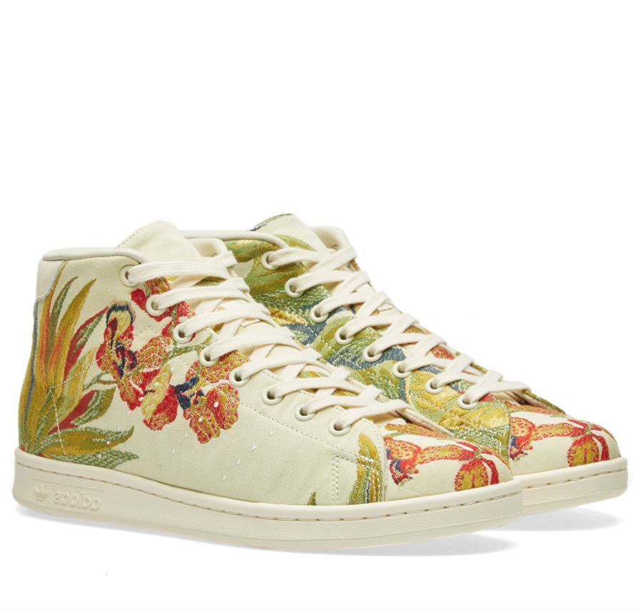 Adidas STAN SMITH MID JACQUARD CREAM