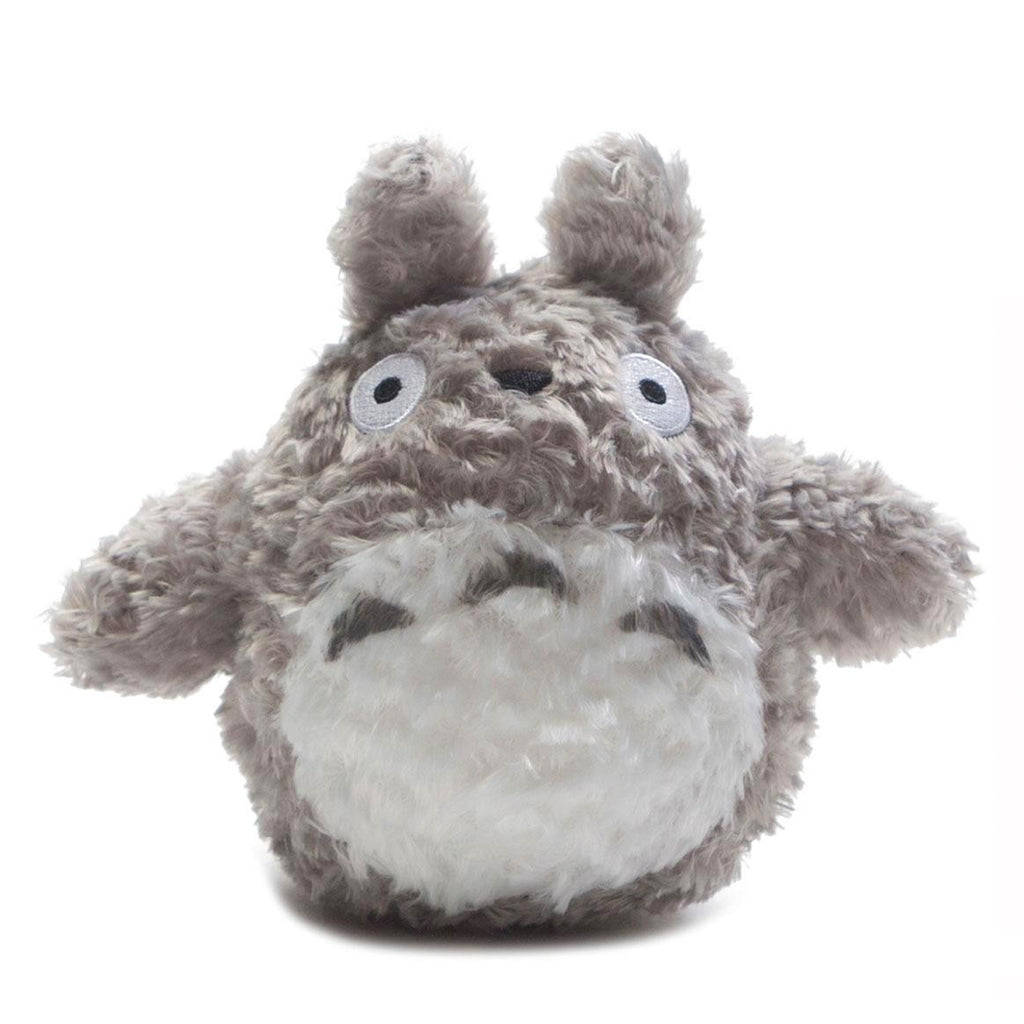 "6"" GREY FLUFFY BIG TOTORO PLUSH ""MY NEIGHBOR TOTORO"""