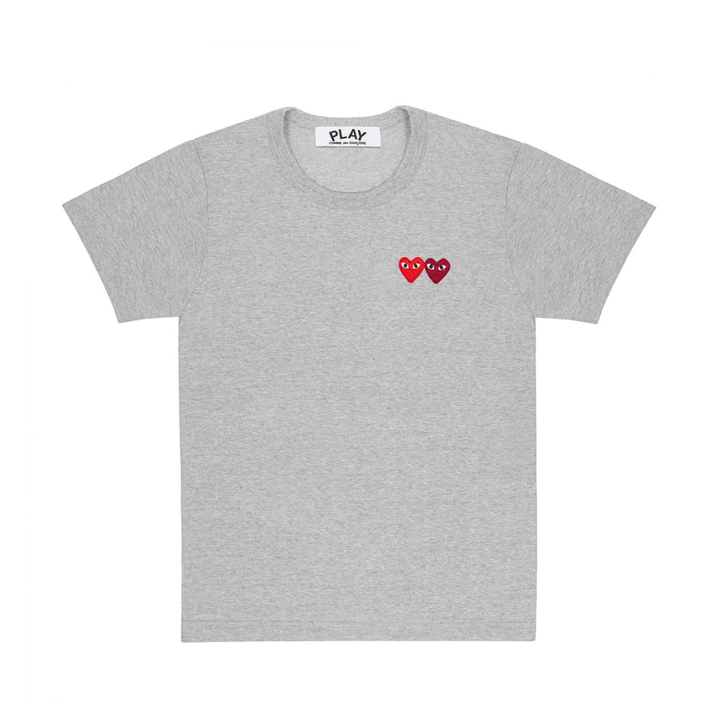 DOUBLE SMALL HEART T-SHIRT