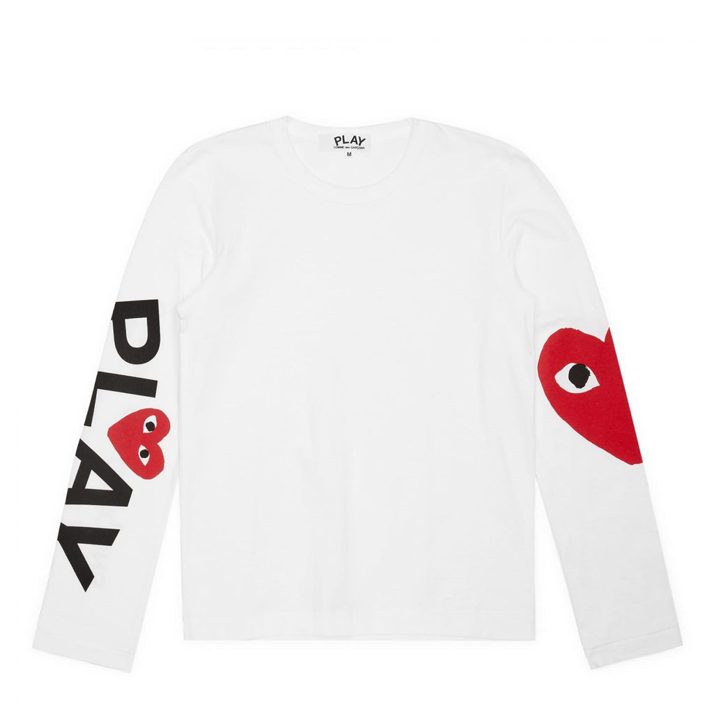 PLAY BIG HEART LONG SLEEVE TEE
