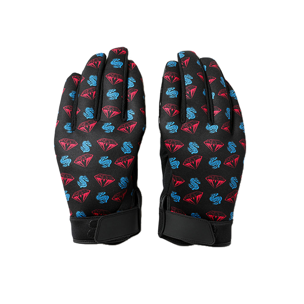 BILLIONAIRE BOYS CLUB DIAMOND AND DOLLAR GLOVES