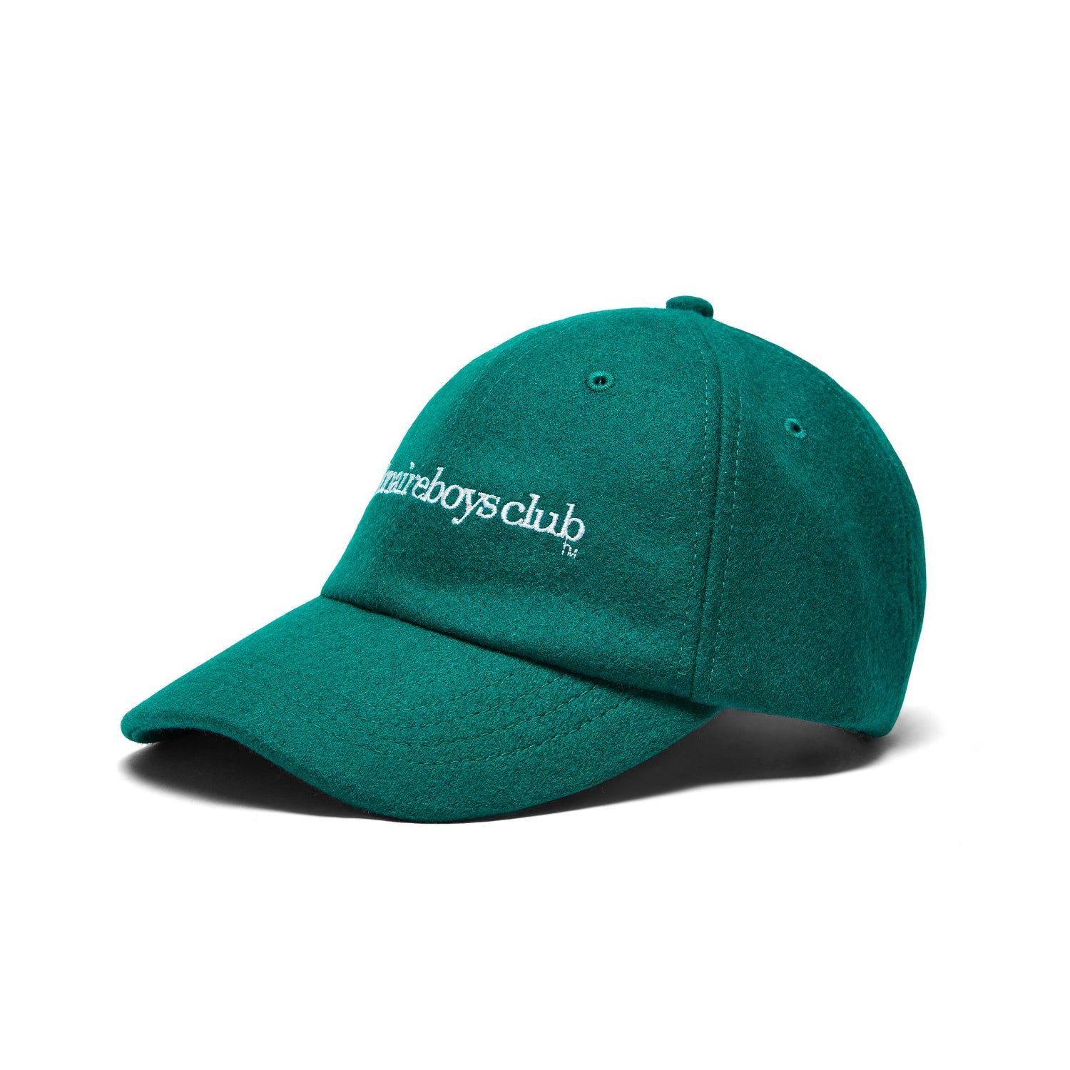 EMBROIDERED WOOL BLEND CAP