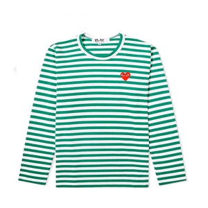 STRIPED LS T-SHIRT