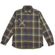 BETTER BUILT PLAID REVERSIBLE SHIRT / GREEN / S