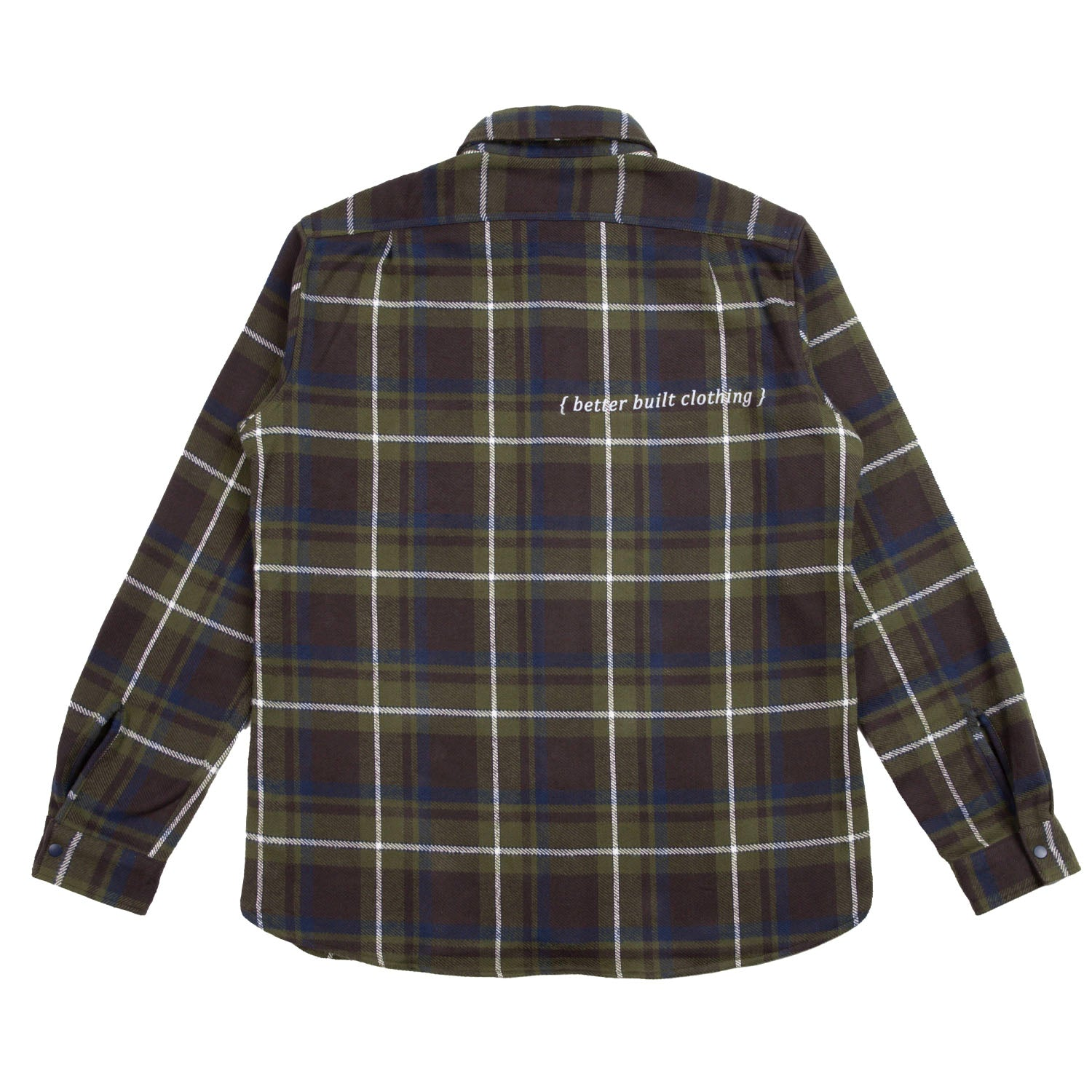 BETTER BUILT PLAID REVERSIBLE SHIRT