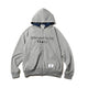BILLIONAIRE BOYS CLUB x FDMTL ZIP UP HOODIE / GREY / S