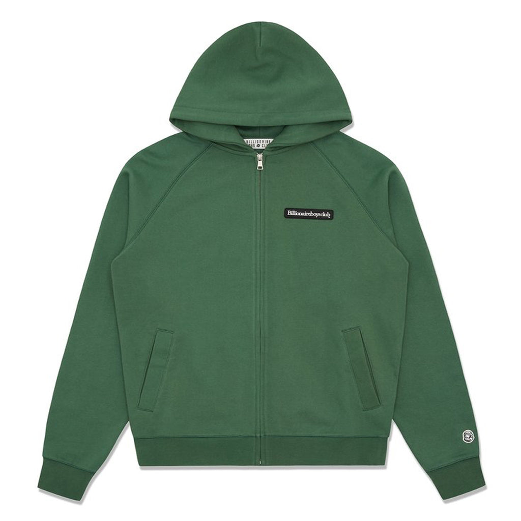 RUBBER PATCH ZIP HOOD