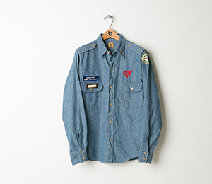Human Made Chambray Military Shirt