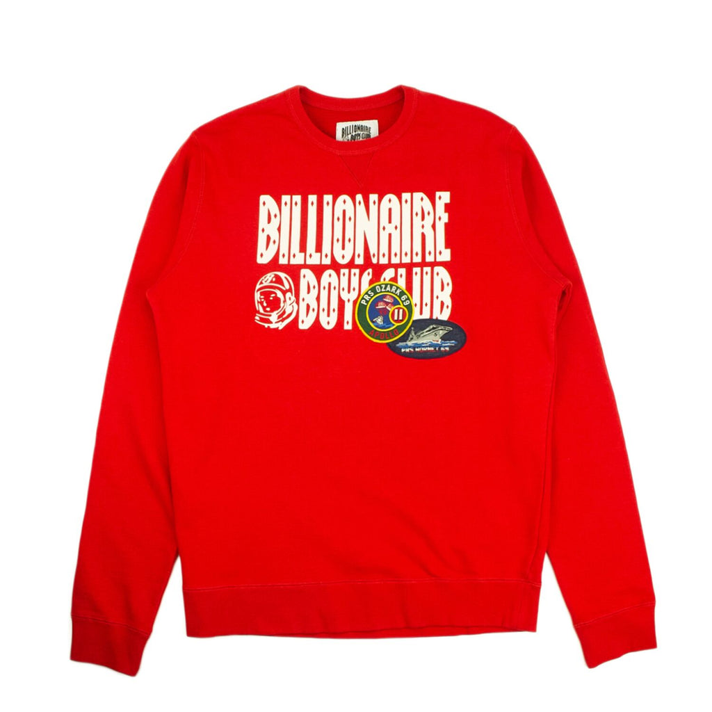DECORATED LOGO CREWNECK