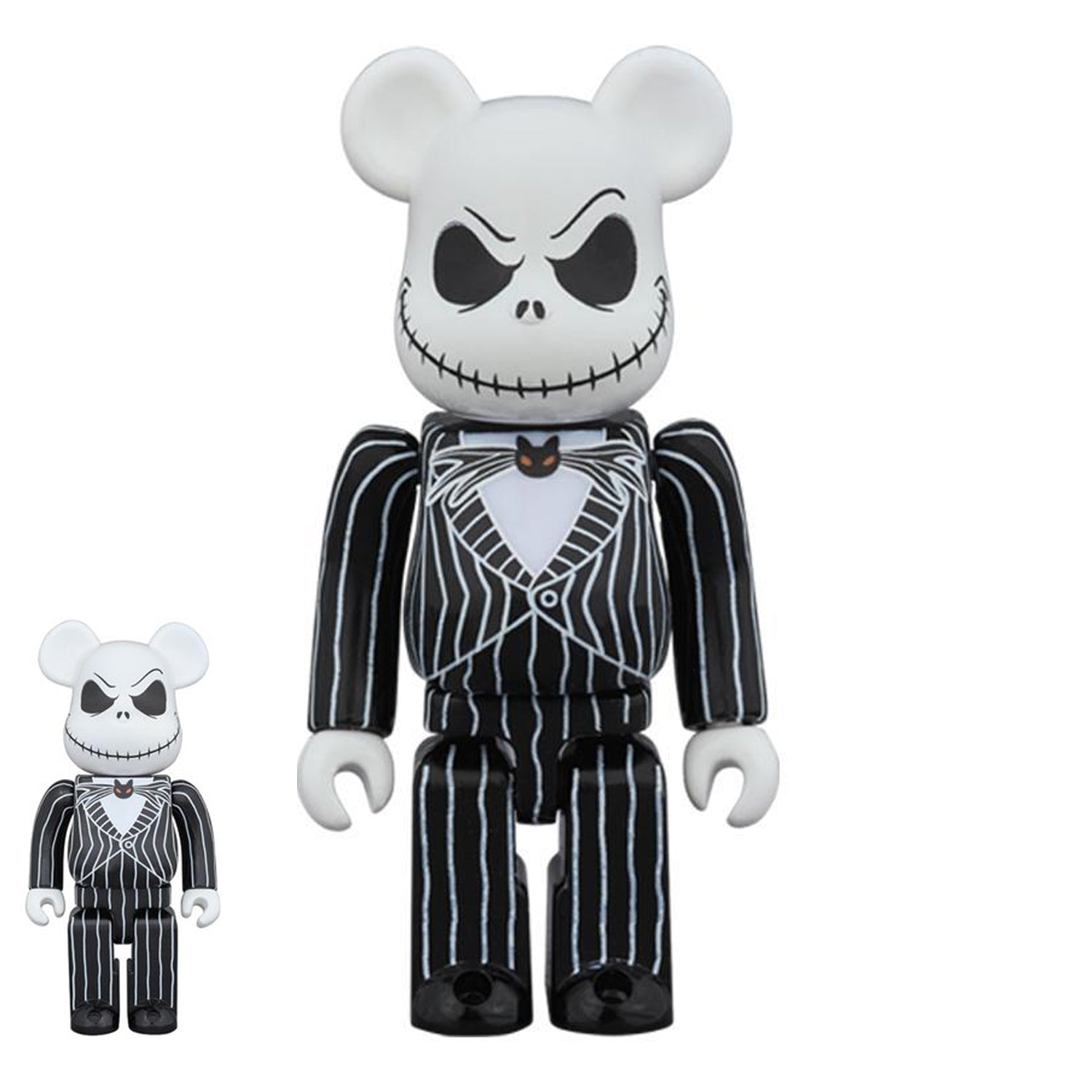 100% 400% JACK SKELLINGTON BE@RBRICK