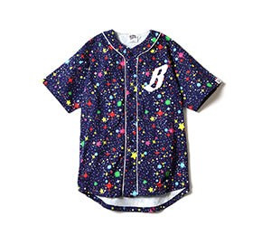 Billionaire Boys Club STARFIELD BASEBALL JERSEY
