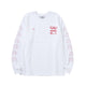 ANA / C-TEE LS / WHITE/RED / S