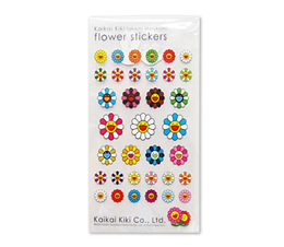 Murakami Clear Flower Stickers