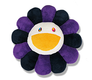 Murakami Flower Cushion 1M Purple / Purple