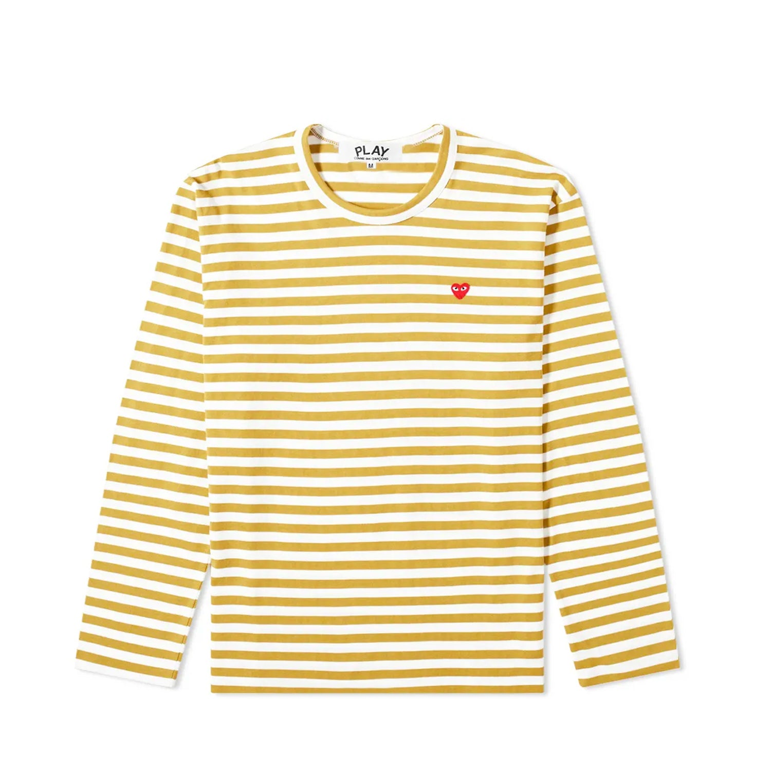 Colour Series Little Red Heart L/S Striped T-Shirt