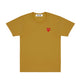 PLAY Little Red Heart T-Shirt / OLIVE / S