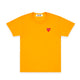 PLAY Little Red Heart T-Shirt / ORANGE / S