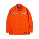 CLASSIC WORK / EC-SHIRT LS / ORANGE / S