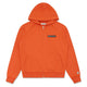 RUBBER PATCH ZIP HOOD / ORANGE / S