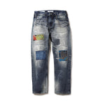 BILLIONAIRE BOYS CLUB x FDMTL DISTRESSED BANDANA JEANS