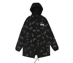 Billionaire Boys Club REPEAT PRINT FISHTAIL PARKA