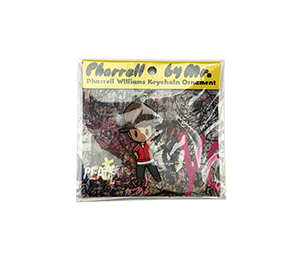 Kaikai Kiki Pharrell Hatty by Mr. Rubber Keychain